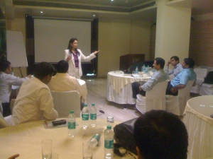 Leadership Session with Service Sector by Anubha